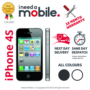 Apple-iPhone-4S-8GB-16GB-32GB-64GB-Unlocked-All-Networks-Various-Colours