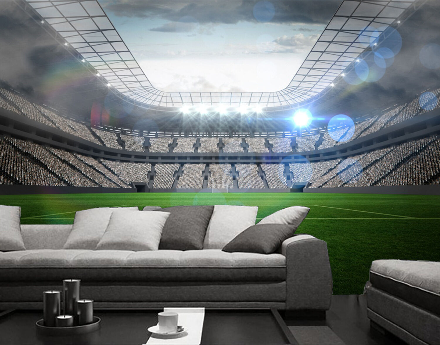 3D Bright stadium 33 Wall Paper Print Wall Decal Deco Indoor Wall Murals