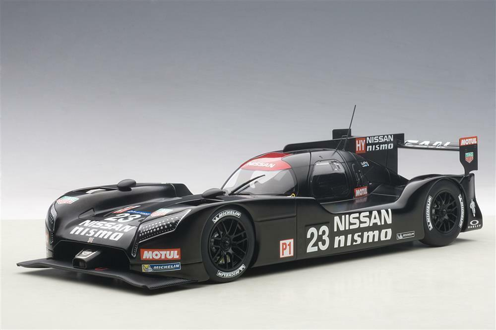 1/18 Autoart-Nissan GT-R NISMO LM 2015 Test Car  Composite Model/2 door openin