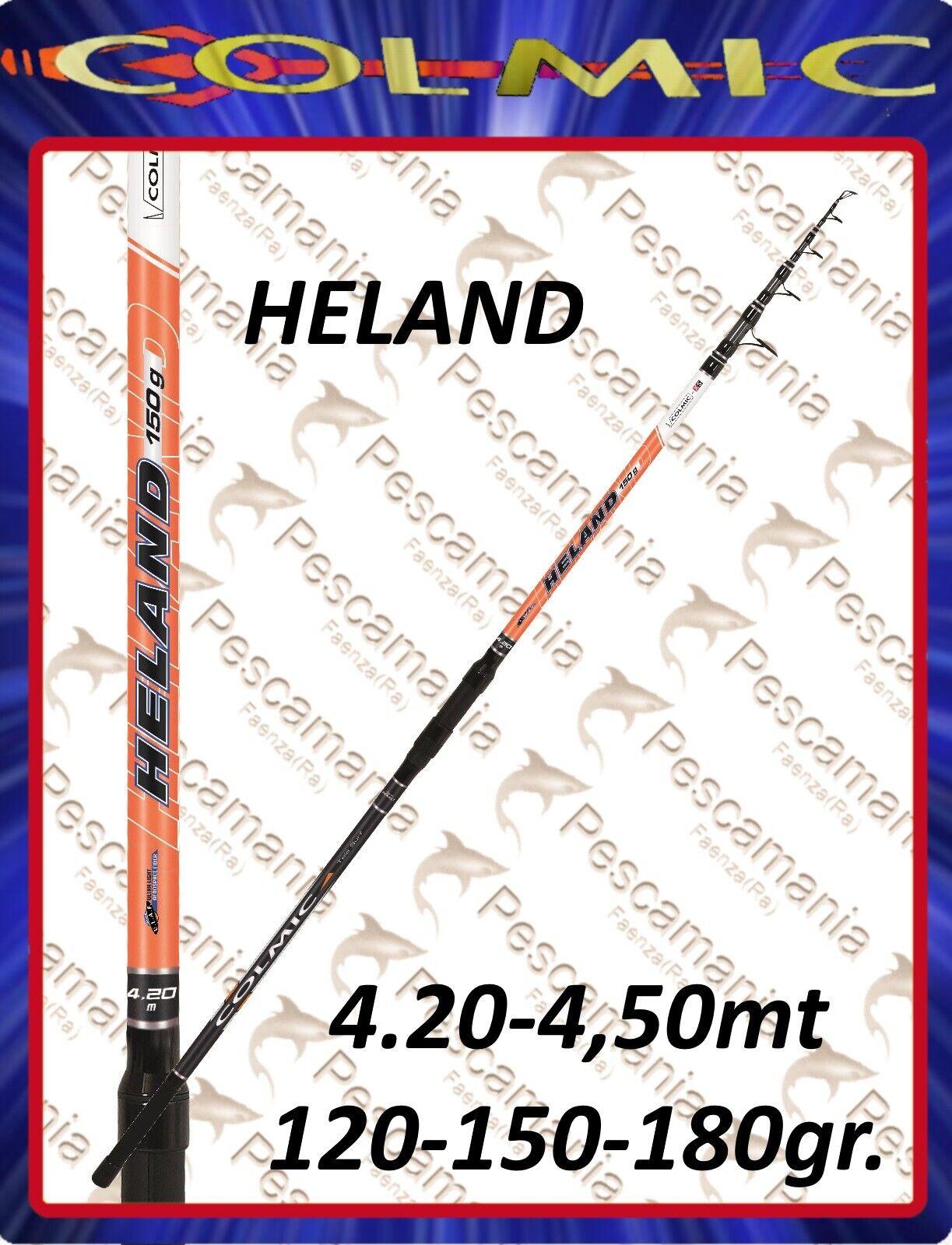 Canna colmic HELAND surf mt.4,20 mt 4.50 120-150-180 gr. surf casting