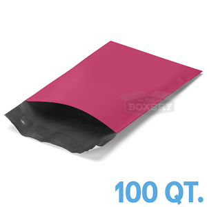 100 - 6X9 PINK POLY MAILERS ENVELOPES BAGS 6 x 9 - 2.5MIL  The Boxery