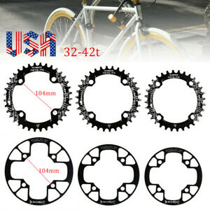 SNAIL-32-42t-BCD104mm-Narrow-Wide-Single-Speed-MTB-Bike-Crankset-Chainring-ring