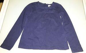 Ravissant-tee-shirt-bleu-marine-CYRILLUS-8-ans-Excellent-etat