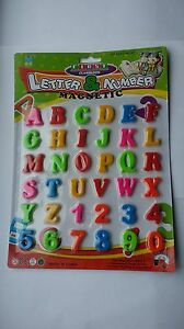 36pc-Magnetic-Letters-and-Numbers-Fridge-Magnets-Kids-Baby-Alphabet-and-Numbers