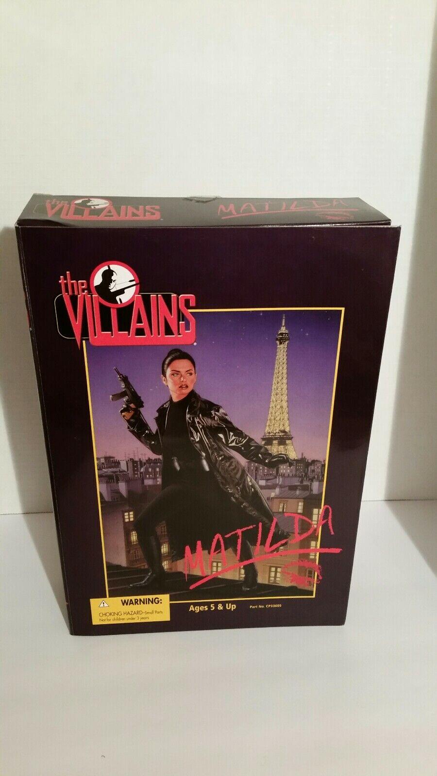 Los villanos 21st Century Juguetes MATILDA 12  Figura De Acción Vintage Nuevo