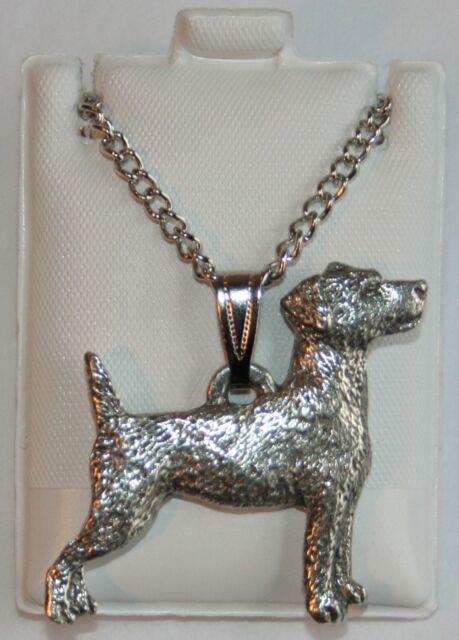 Jack Russell Terrier 3D Dangle Slider Charm fits European Bracelets or Necklace