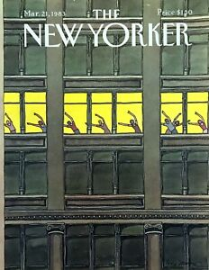 1983-Exercise-Class-Upper-Floor-NY-Building-March-21-New-Yorker-Mag-COVER-ONLY