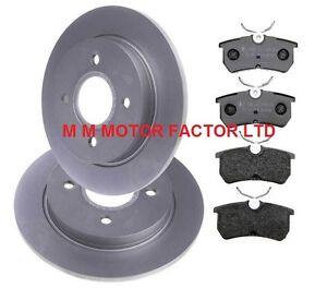 Ford-Focus-Mk1-2-0-ST-170-2002-2005-Discos-De-Freno-Trasero-amp-Pastillas