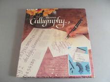 Vintage Sheaffer Calligraphy Pen Set Fine Medium & Broad Nibs No Ink