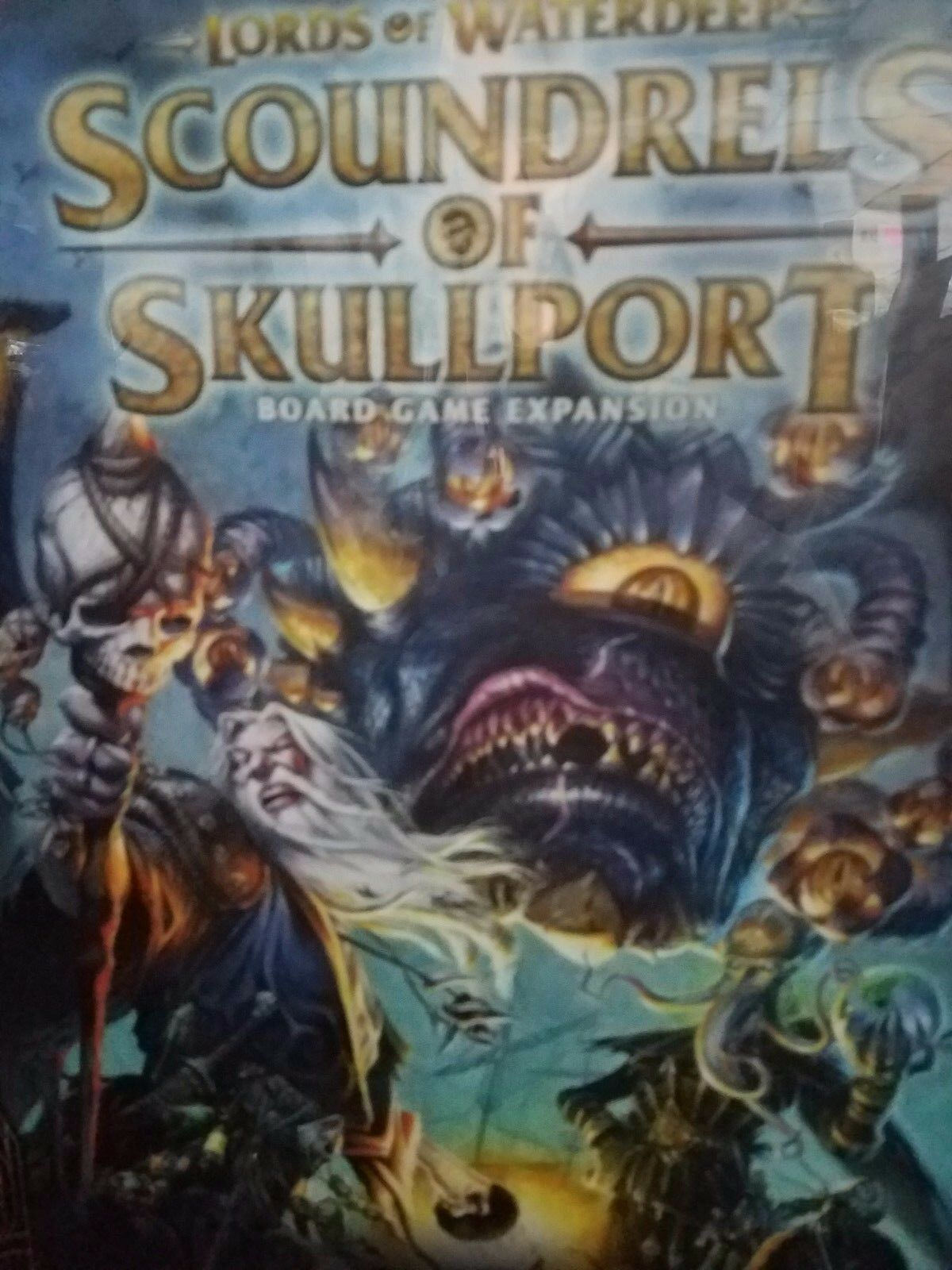 Herren waterdeep  gauner skullport expansion - brettspiel neu d & d