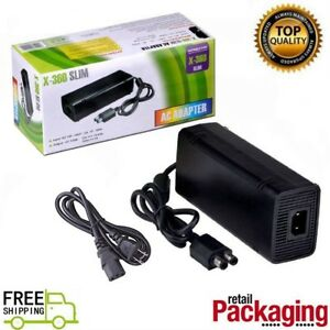 135w 12v ac adapter charger power supply cord for xbox 360 slim.
