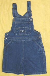 Infants Unisex Nautica Brand Denim Overall Shorts size