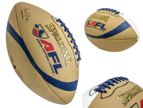 Spalding AFL Arena Football League Autograph  Leather Full Size Football