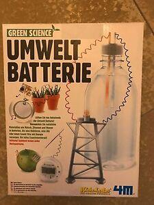 Umweltbatterie-Batterie-Umwelt
