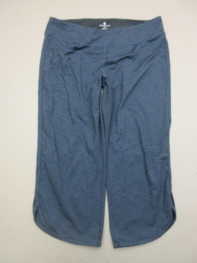 Tuff Athletics Size XL Womens Navy Nylon Performance Hiking Capri Pants T354