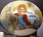 Knowles Collector Plate Orphan Annie