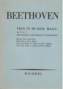 Beethoven-Trio-op-70-N-2-Fuer-Violine-Violoncello-E-Klavier-Musiknoten-Pocket