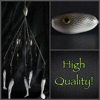 Alabama/umbrella Rig (bladed Bait Ball) 5 Wire 8 Blades High Quality