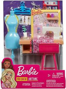 Barbie Career Places Sewing Fashion Designer Playset Fxp10 New 887961696967 Ebay
