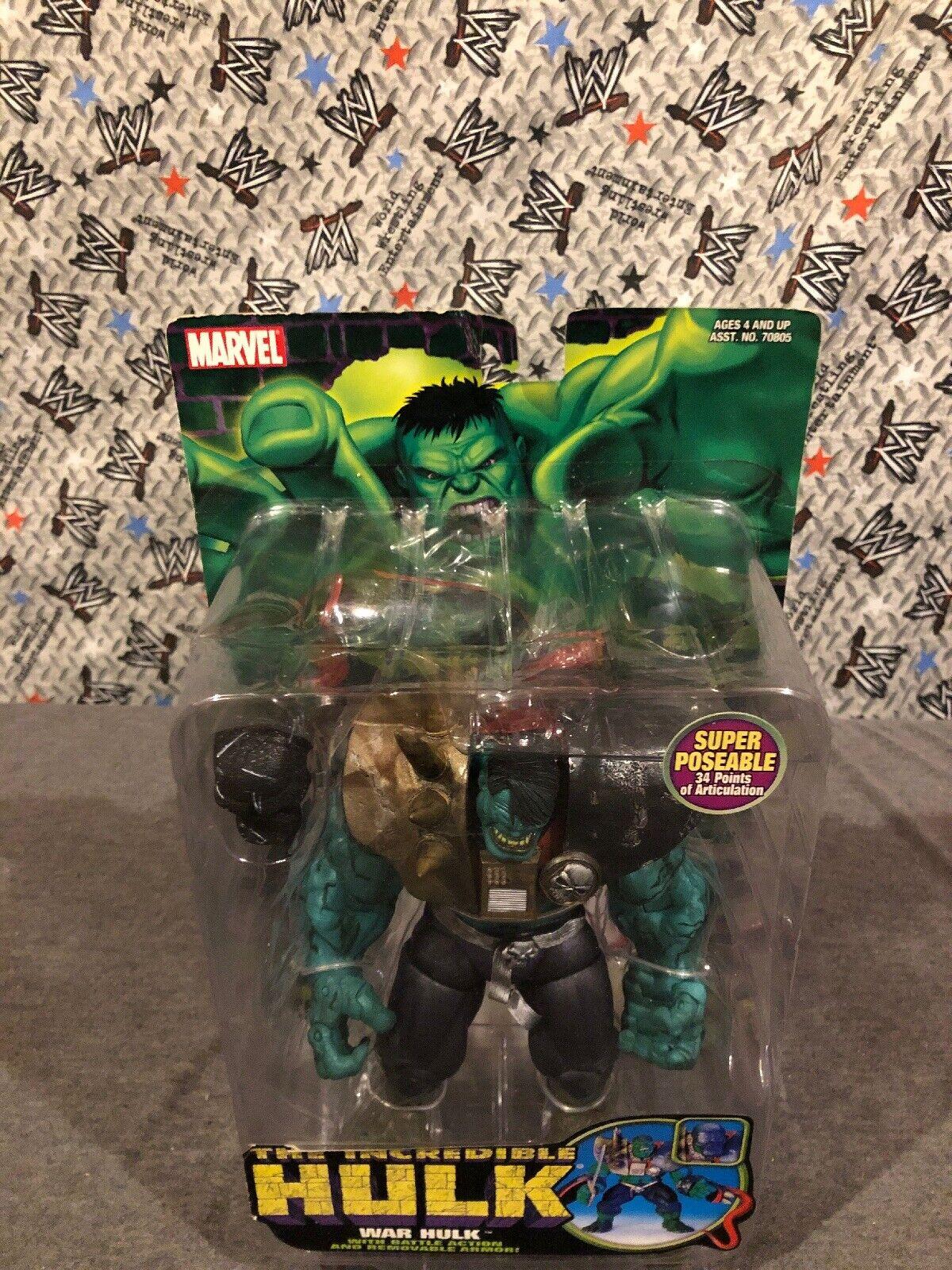 Marvel Legends giocattolobiz Hulk classeics War Hulk azione cifra cifra cifra nuovo EXTREMELY RARE 127369