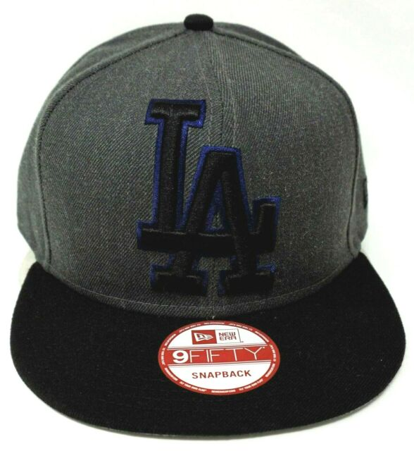 c4e7cacd7d531 Los Angeles DODGERS Snapback Cap MLB NEW ERA 9FIFTY Heather Grand Hat Adult  OSFM