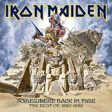 IRON MAIDEN SOMEWHERE BACK IN TIME BEST OF 1980-1989 CD NEW