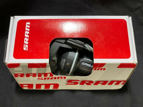 NEW SRAM MRX COMP 3 x 7 21-SPEED TWIST SHIFTER SET w// GRIPS CABLES FITS SHIMANO