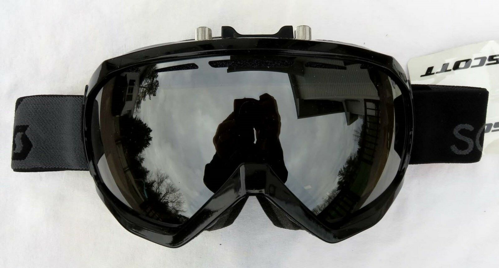 160 Scott Mens Notice OTG Over The Glasses Electric No Fog Fan Ski Goggles