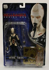 Hellraiser Series 1 Wire Twin with Puzzle Box Piece Figure by Neca