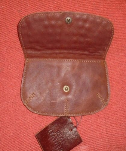 Urban Outfitters Ecote Brown Leather Wallet w// Studded Flap NWOT Coin Purse