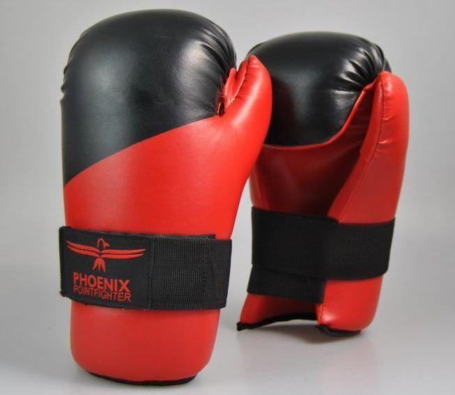 Phönix- Phönix- Phönix- Boxhandschuhe. Pointfighting Open Hands rot-schwarz. XS-XXL. Kunstleder. f4d5bf