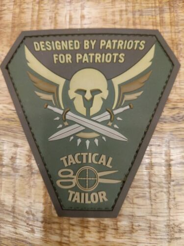 PVC PATCH Tactical Tailor Military Morale Patch
