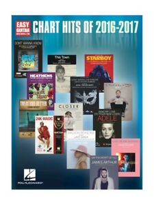 Details about Chart Hits Of 2016-2017 Pop Songs Learn to Play EASY GUITAR  Beginner MUSIC BOOK