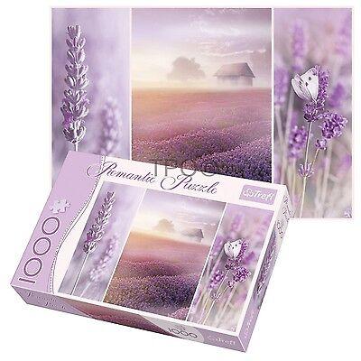 Trefl 1000 Piece Romantic Lavender Fields Adult Large Floor Jigsaw Puzzle NEW