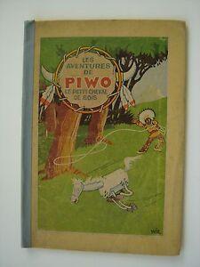 VANDERSTEEN-Les-aventures-de-Piwo-le-petit-cheval-de-bois-1ere-edition