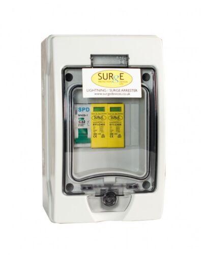 Type 2+3 Surge SY1-C 40 xencm Surge dispositif de protection Disjoncteur monophasé
