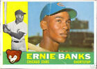 2009 Topps Heritage 1960 Buybacks Ernie Banks Chicago Cubs #10 Baseball Card