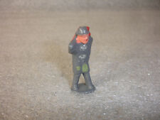 Old Vtg train garden lead hand painted hobo bum Barclay or Manoil