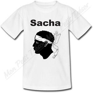 T-shirt-Enfant-Corse-avec-Prenom-Personnalise