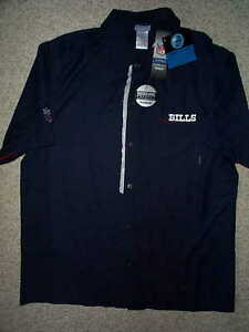 4c082146e 55) REEBOK Buffalo Bills nfl SIDELINE Jersey Shirt Adult MENS MEN S ...