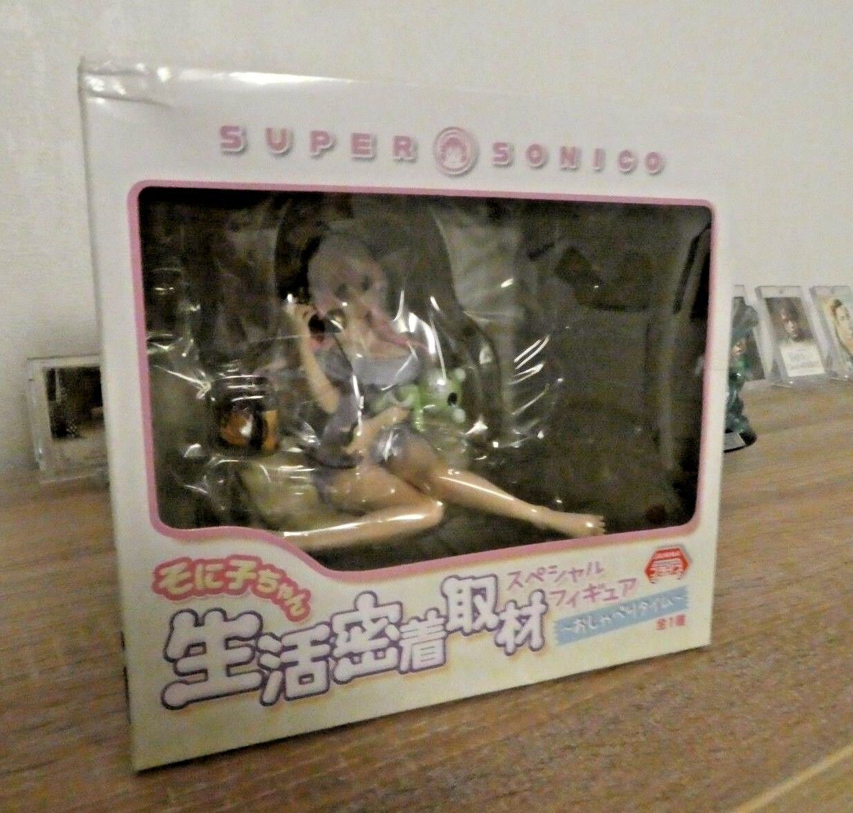 SUPER SONICO SPECIAL FIGURE   FIGURINE HER LIFE ADHESION INTERVIEW JANMA HOT