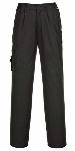 PORTWEST C099 black or navy blue ladies combat trouser size XS-3XL R//T