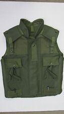 Canadian Army 1990s Green OD Fragmentation Flak Vest Size Large Long Unissued
