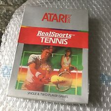 VINTAGE# REALSPORTS TENNIS   #ATARI 2600#MOD CX2680 NIB Pal Version SEALED