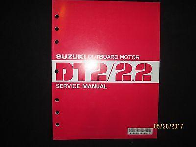 Manuals & Literature 1982 Suzuki Outboard Motor DT2 Service Manual ...