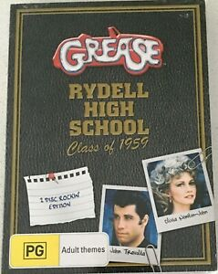 GREASE-Rydell-High-School-Class-of-1959-DVD-Region-4-PAL-NEW
