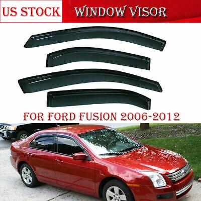 Window Visor For 2006 2007 2008 2009 2010 2011 2012 Fusion Milan MKZ