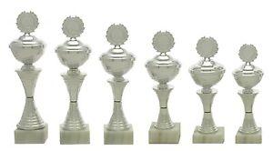 6er-Serie-Pokale-457a-Silber-mit-Hoehe-28-5-22-5-cm-inkl-Gravur-nur-39-95-EUR