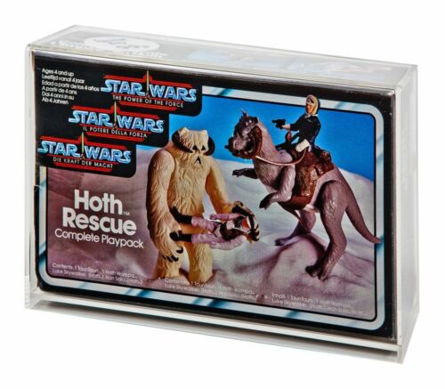 Star Wars Tri Logo Hoth Rescue//Ewok Combat//Endor Chase//Max Rebo Display Case