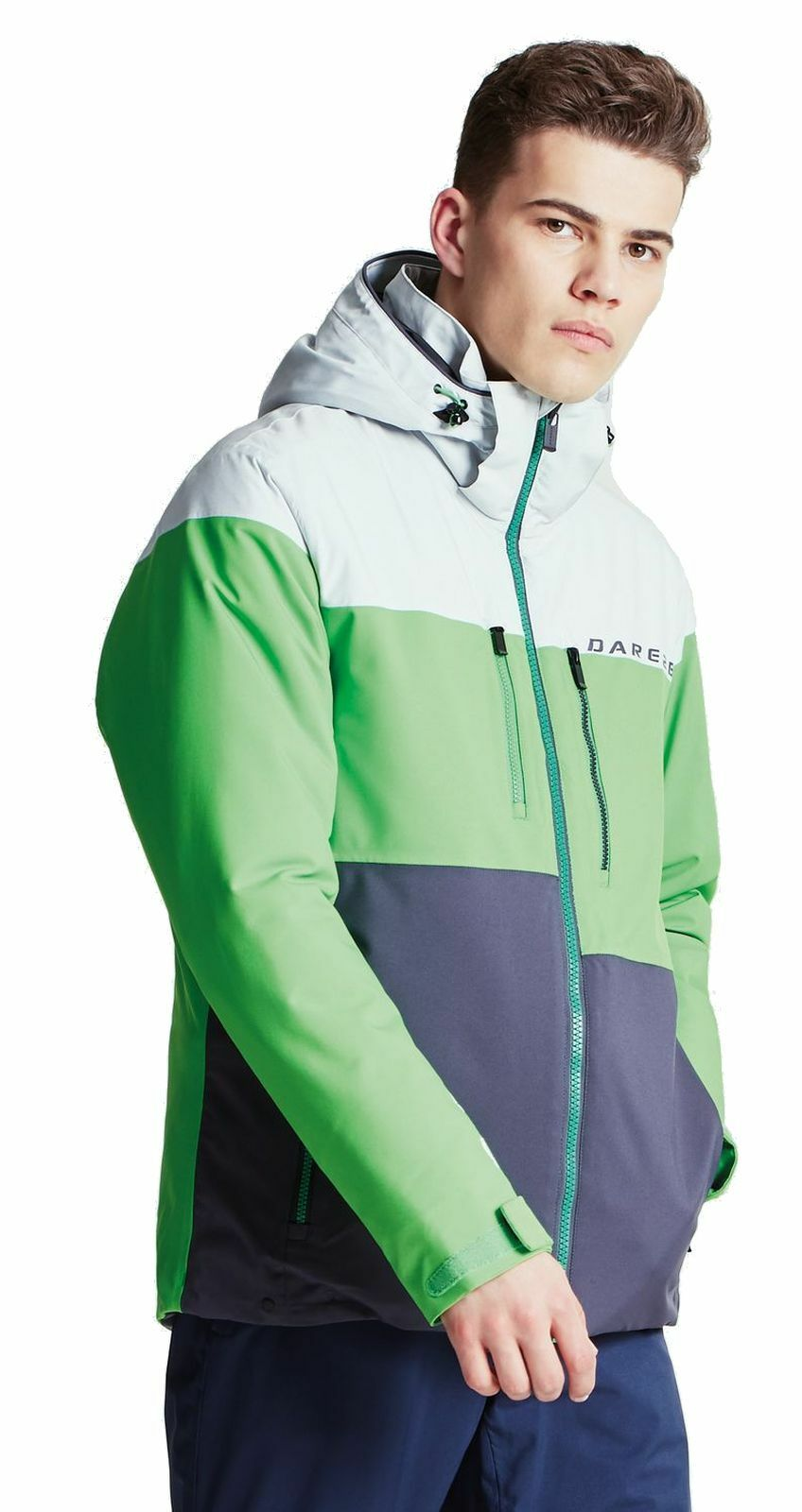 Dare2b Herren Ski Jacke Skijacke ROAMER PRO JACKET grau grün